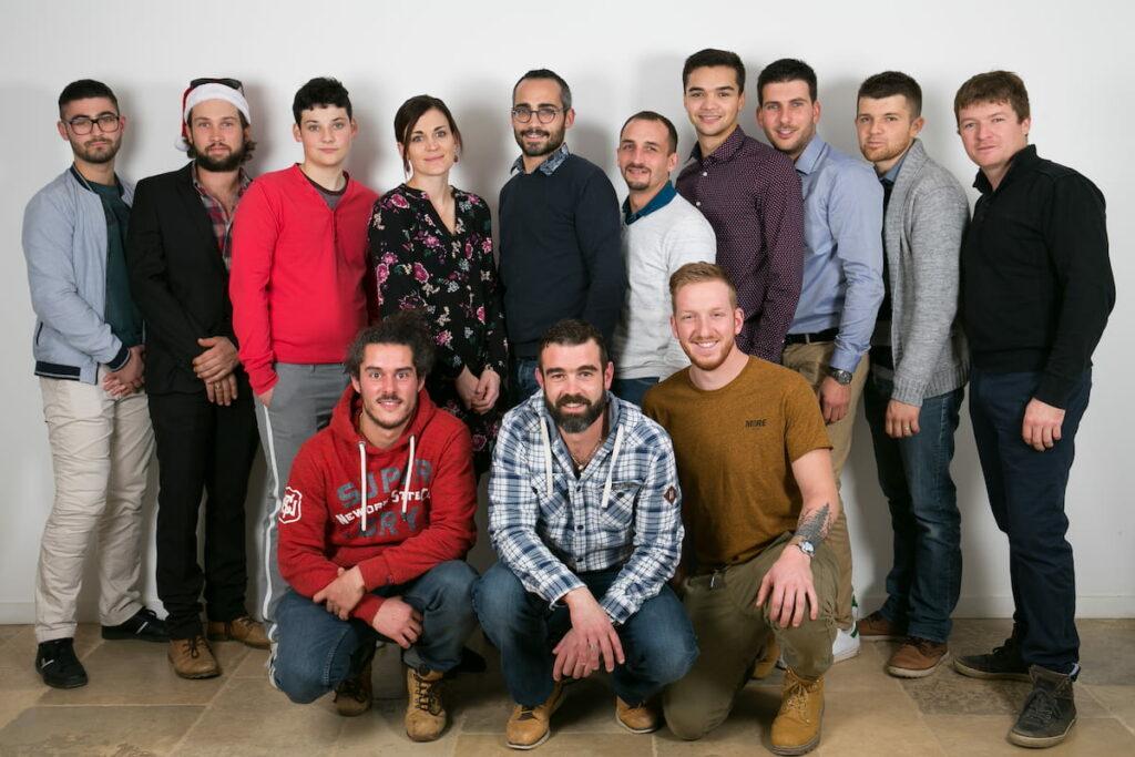 Photo de l'équipe de Serra Paysage.